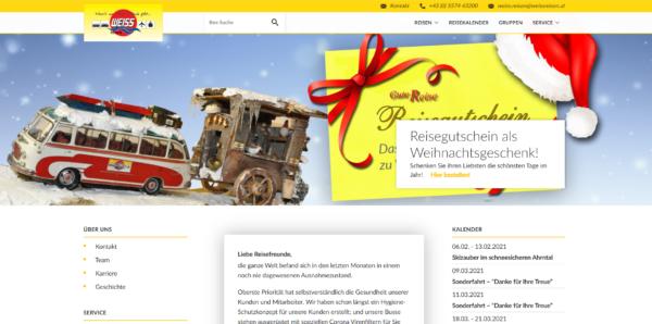Weiss Reisen Startseite